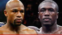Floyd Mayweather -- OFFICIALLY FIGHTING ANDRE BERTO
