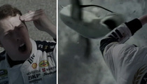 Brad Keselowski -- My Awesome 'Sharknado 3' Scene Took 40 Takes!! (VIDEO)