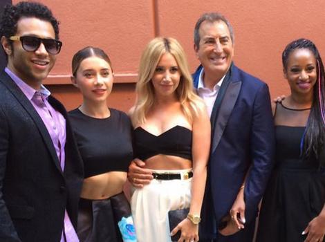 'High School Musical' Stars Ashley Tisdale, Corbin Bleu and More Reunite at 'Descendants'…