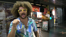 Redfoo -- Training to Be Tennis Pro ... Everyday, I'm Hustlin'