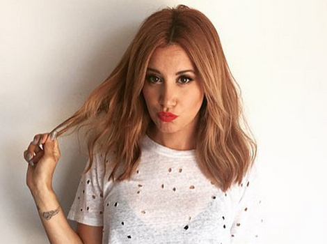 Ashley Tisdale Debuts Strawberry Blonde Locks