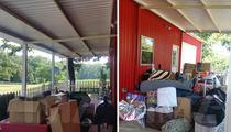 Blake Shelton to Miranda -- Your Crap's On the Porch