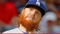 Dodgers' Justin Turner -- Hospitalized For Mega-Pimple