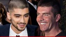 Zayn Malik -- I've Signed With RCA ... Thanks to Simon Cowell!