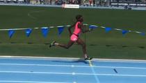 Chad Johnson's Daughter -- Crushing U.S. Junior Olympics ... Advances to Finals