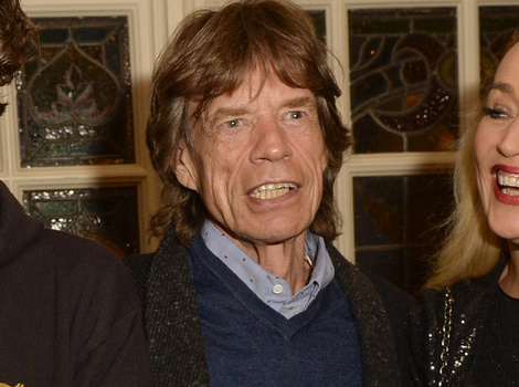 Mick Jagger & Jerry Hall's Son Spotted on HBO Set -- Does He Look Like Rocker Dad?