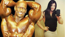 Transgender Bodybuilder -- Huge Support from Muscle Legends