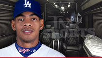 MLB Star Hector Olivera -- Drops $300k ... For Nightclub On Wheels