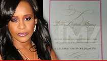 Bobbi Kristina -- Funeral Ends With Send-Off From Whitney Houston