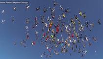 Skydivers Set CRAZY World Record