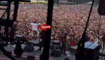 Rapper Travis Scott -- Arrested for Inciting Crowd at Lollapalooza (VIDEO)