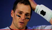 Tom Brady -- You 'Morons' Better Get Me a White Pool Cover!!
