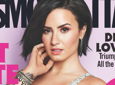 "Demi Lovato Slams Her Haters, Defends Cosmo Cover Saying ""I Am Confident In My Own Skin"""