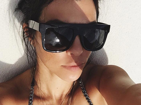 Loving the Single Life! Kourtney Kardashian Flaunts Major Cleavage In Sexy Bikini Selfie
