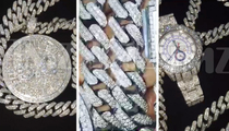 Jamaal Charles -- Chief of Bling Flashes Stats ... in DIAMONDS!!