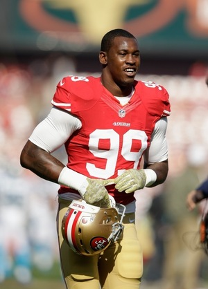 Aldon Smith on the 49ers