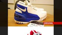 LeBron James -- First Draft of Signature Shoe ... Total Nike FAIL (PHOTOS)