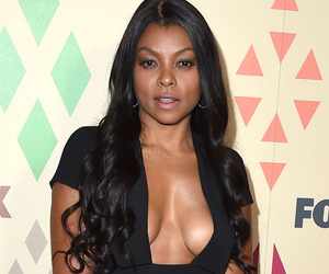 Taraji P. Henson Shows Off Tons Of Cleavage at Fox's 2015 TCA All-Star Party --…