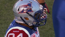 Michael Sam -- I'm a Pro Now! Sees First CFL Action