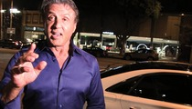 Sylvester Stallone -- Andre Berto, I Was Kidding ... Stick with Rocky! (VIDEO)