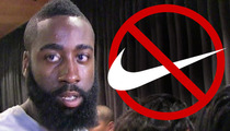 James Harden Contract -- Nike's Out ... Khloe Kardashian Called It!