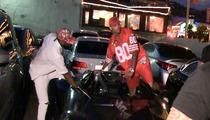 Chris Brown -- Gets Smart ... Dodges Possible DUI? (VIDEO)