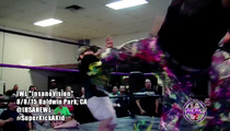 Kid Gets Double Superkick To Face