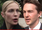 Kelly Rutherford -- Ordered to Court ... With Kids