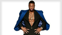 Dwyane Wade -- Even Hammer Can't Touch This Suit (PHOTO)