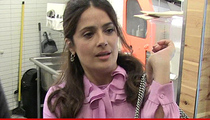 Salma Hayek -- Two Obsessed Fans Threatened to Kidnap My Child!