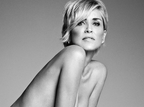 She's Still Got It! Sharon Stone, 57, Goes Completely Naked For Harper's Bazaar
