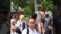Ben Affleck & Jennifer Garner -- Together in Florida For Ben's BDay (PHOTO)
