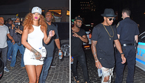 Rihanna and Lewis Hamilton -- Together Again
