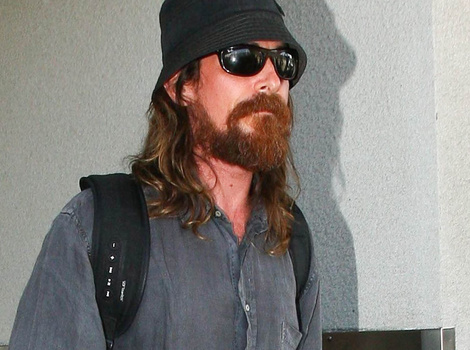 Christian Bale Is Extremely Scruffy And Unrecognizable While Out In LA