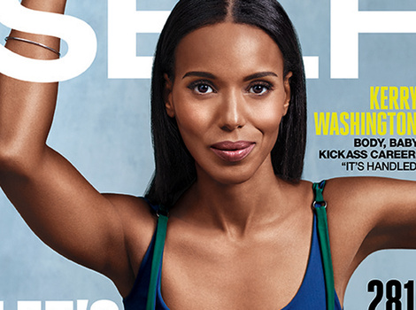 "Why Kerry Washington Doesn't Want Her Pre-Baby Body ""Back"""