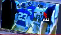Dez Bryant -- CRACKED in the Face During Cowboys-Rams Brawl (VIDEO)