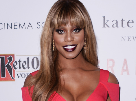 Laverne Cox Is Fierce In Two Chic Outfits, Rocks New Bangs