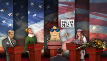 Deez Nuts – Getting Tough Competition from Jack Sparrow & Tom Brady Sketch