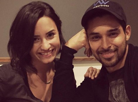 Wilmer Valderrama Shares Sweet Birthday Message to Demi Lovato -- Plus, See Her New Pup!