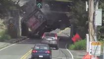 Infamous Bridge Destroys Another Truck