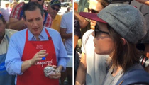 Ted Cruz -- Grilled By Ellen Page ... While Grilling Pork Chops