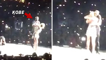 Taylor Swift -- Kobe Bryant Jumps Onstage in Banner Night (VIDEO)