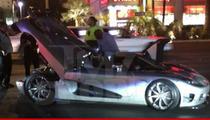 Floyd Mayweather -- Takes $5 Million Car to Fatburger