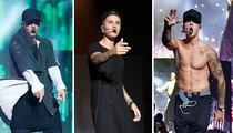 Justin Bieber Loses it Onstage  (PHOTOS)