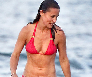 Pippa Middleton Flaunts Super Toned Bikini Bod on Vacation with Family