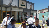 Shots Fired at Rolex Store ... Inside Famous L.A. Mall