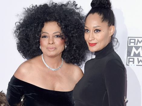 "Tracee Ellis Ross Recreates Mom Diana Ross' ""Work That Body"" Music Video"