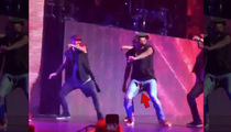 Chris Brown Rips Pants -- Let Me Be Brief ... While I 'Hit The Quan' (VIDEO)