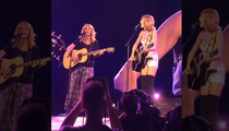 Taylor Swift and Lisa Kudrow Smell Up Staples Center (VIDEO)