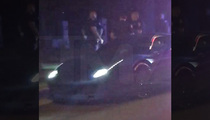 Justin Bieber-- Nailed by Lotsa Cops for Speeding (VIDEO)